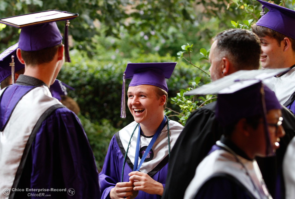 . Inspire School of Arts & Sciences commencement ceremony for the class of 2017 Tuesday June 6, 2017 in Chico, California. (Emily Bertolino -- Enterprise-Record)