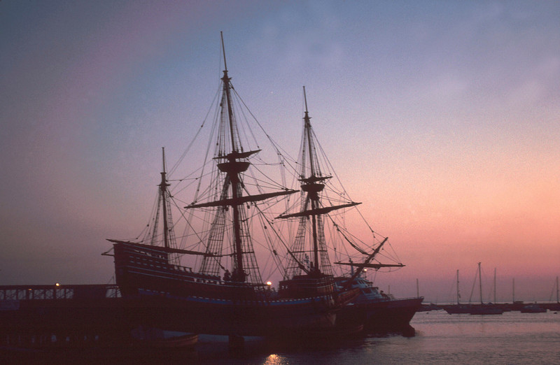 MAYFLOWER in Port at Plymouth