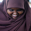 Fatima, a Somali refugee who fled to Egypt in 2008 teaches her fellow Somali women income-generating skills to enable them to make a living. UNHCR Egypt/L. Cecco