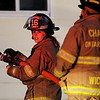 Firefighters from six departments from three counties responded to a structure fire in West Bloomfield on Tuesday night.