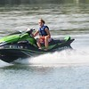 Jack Haley/Messenger Post Media<br /> Going just a tad fast in the no wake zone.