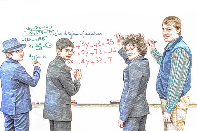Math in Suits