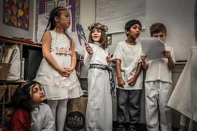 1st Grade Ides of March Celebration