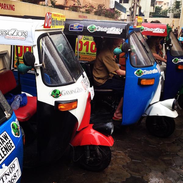 Rickshaw cars