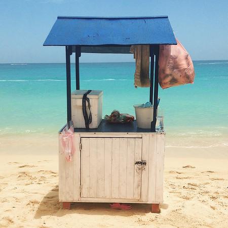 Colombia isla baru shack