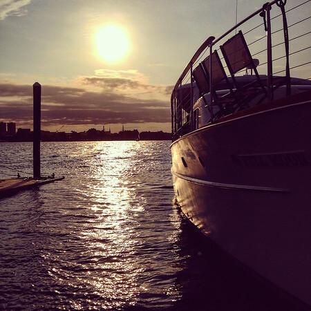 Boston yacht