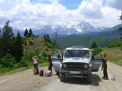 Drop-off Point - Svaneti, Georgia