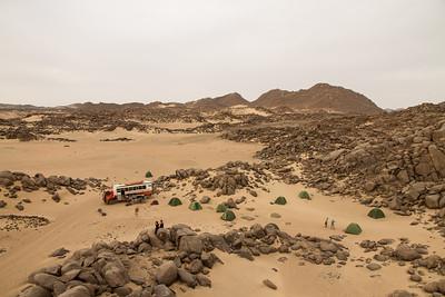 Wild Camping in Sudan