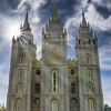 Mormon (LDS) temple, Salt Lake City, Utah