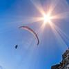 paragliders at Mt. Pilatus