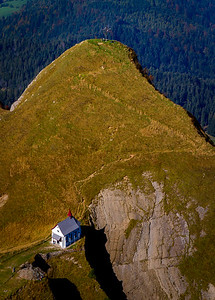church near peak of Pilatus