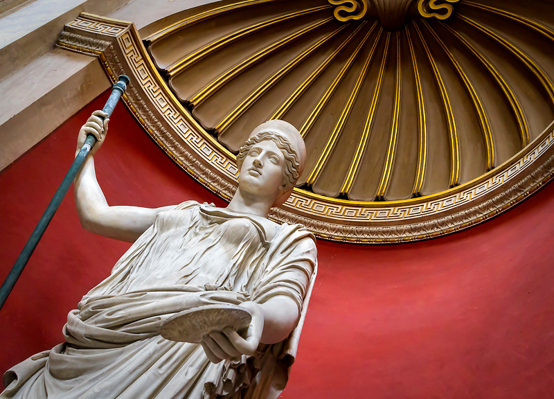 statue of Hera at the Vatican Museums
