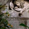 """At """"Lowendenkmal"""", the Lion Monument."""