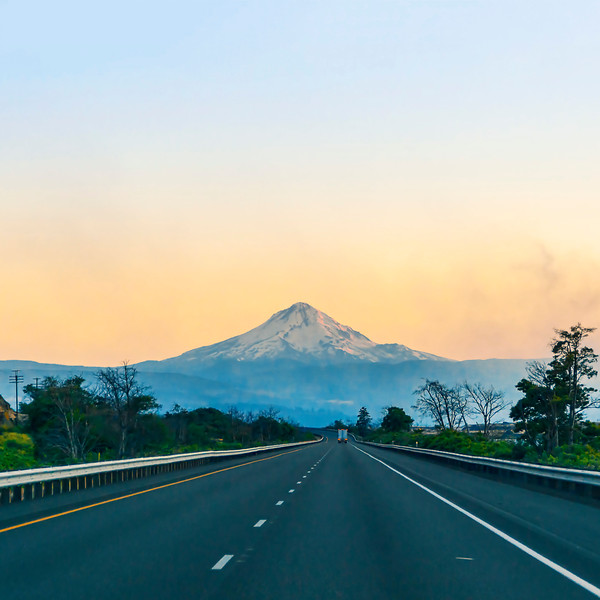 Mt. Hood from Columbia Gorge