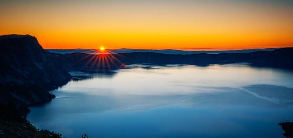 Crater Lake Sunrise