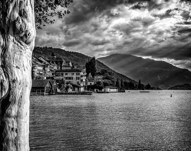 Zug shoreline