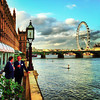 Beautiful Evening by the Thames