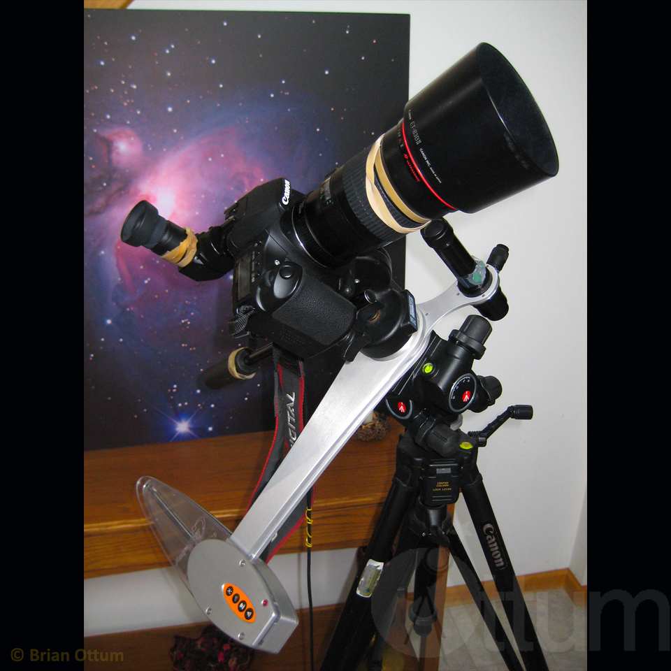 Canon 200mm and AstroTrac