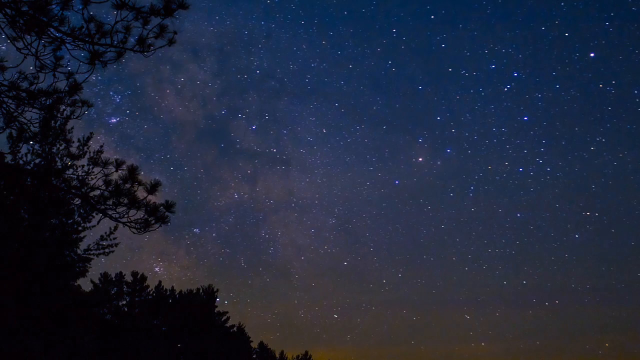 Time Lapse Video of Milky Way
