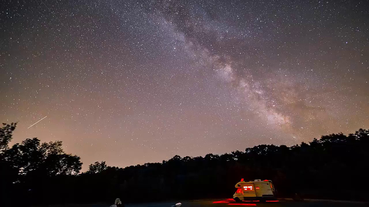 Video of the Perseid Meteor Shower
