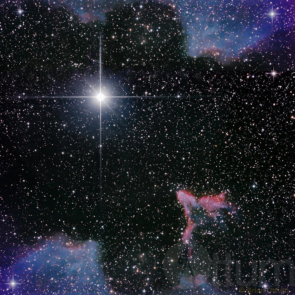 Gamma Cassiopeiae and IC63