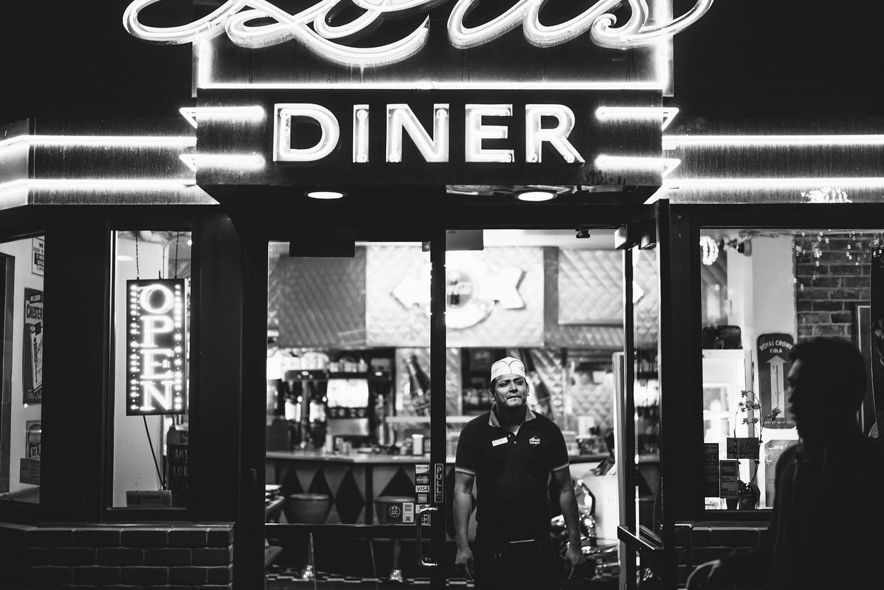 Lori's Diner in Ghirardelli Square, San Francisco