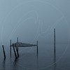 Foggy Pier Dark