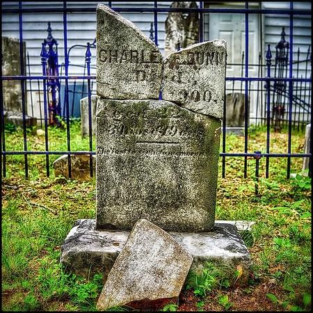 Charles E Dunn, Died Apr. 4, 1900