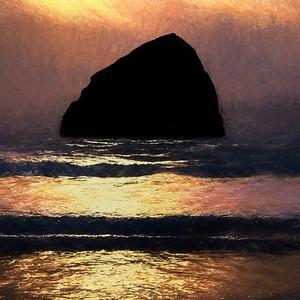Pacific Beach Evening Glow