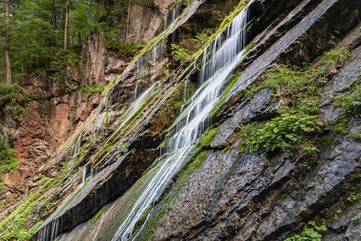 Waterfall Steps in Wimbach Gorge