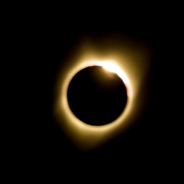 Eclipse Oregon Idaho 2017 Diamong Ring