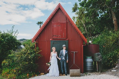 Pompallier House Wedding, Russell, Bay of Islands