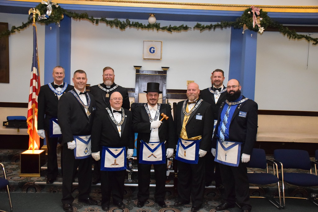 2018 Officers King Solomon Lodge No. 60