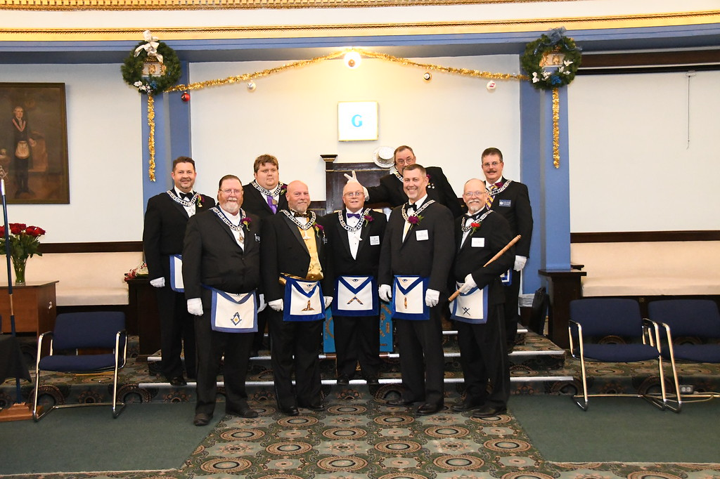 2019 Officers of King Solomon Lodge No. 60