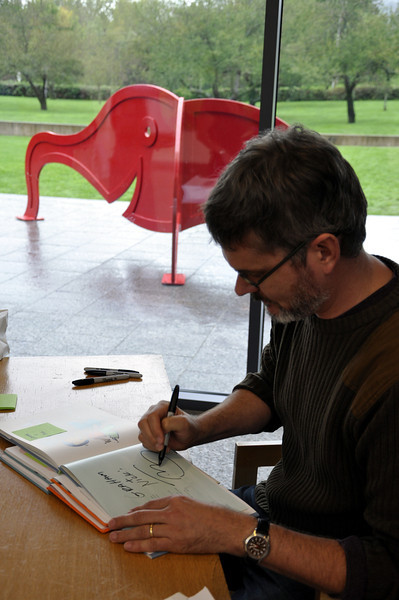 Photo by Kristin Angel © 2011 The Eric Carle Museum of Picture Book Art