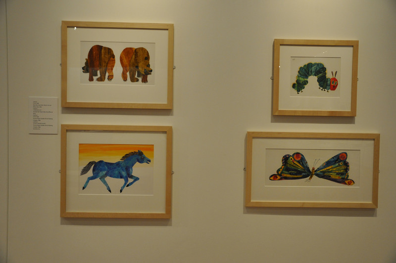 . [Photo by Kristin Angel for The Eric Carle Museum of Picture Book Art - Reproduction only with permission]
