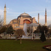 Sophia Mosque - <br /> Built in 360 AD and served as a church until 1453.  Conquered by the Ottomans and converted to a Mosque until 1934 when the communists converted it to a Museum