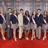 Churchill Downs Opening Night Red Carpet with the KY Derby Festival Princesses.