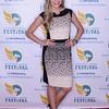 Miss America 2015 Kira Kazantsev at the KDF Celebrity Luncheon at Churchill Downs.