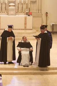 Dominican Rites  Fr. Augustine Thompson on his attaining Master of Theology.  St Albert's Priory Oakland CA  Nov. 15, 2008
