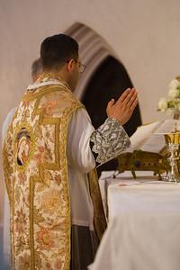 Fr. Henrique A. Fragelli, ICCRSS, 1st Mass at St. Margaret Oakland Apostolate