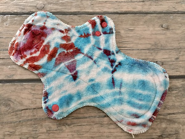 ONE 10inch UltiMini Pad - bamboo velour - dyed by Tripletts Tie Dye