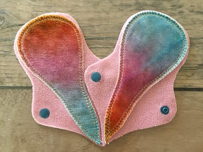 """TWO Thong Liners - bamboo velour - """"pastels"""""""