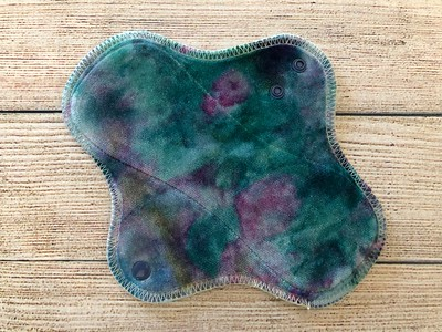 """ONE 8"""" Wrap Wing Style Reusable Cloth Pad for Light Flow"""