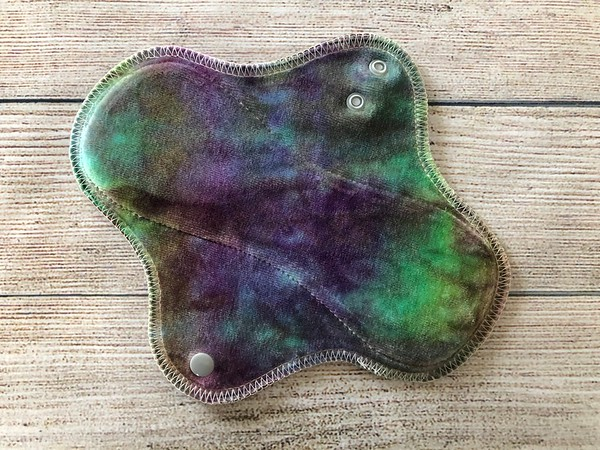 "ONE 8"" Wrap Wing Style Reusable Cloth Pad for Light Flow"