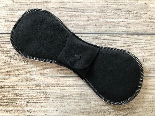 "ONE 11.5"" Long Contoured Reusable Cloth Pad for Regular Flow"