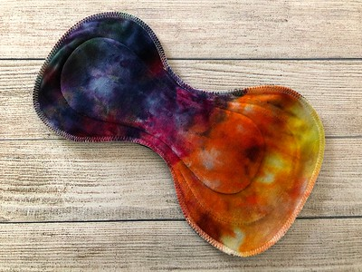"""ONE 12.5"""" Ultimate II Extreme Contour Reusable Cloth Pad for Heavy Flow"""