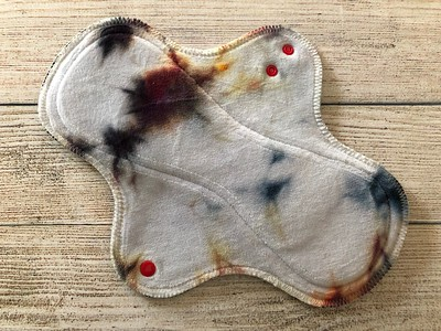 """ONE 11"""" Wrap Wing Reusable Cloth Pad for Heavy Flow"""
