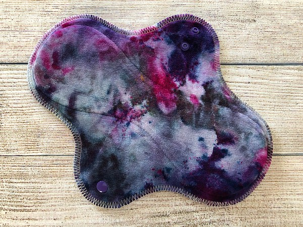 """ONE 9.5"""" Wrap Wing Reusable Cloth Pad for Regular Flow"""