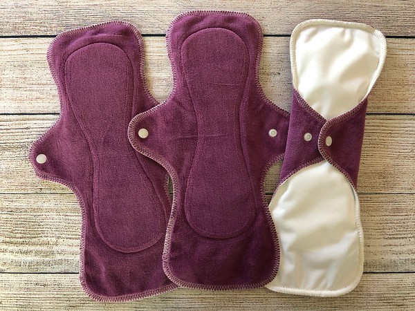 """ONE 12.25"""" UltiMini Reusable Cloth Pad for Heavy Flow"""